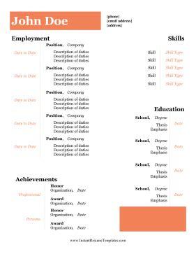 Entry level information technology sample resume